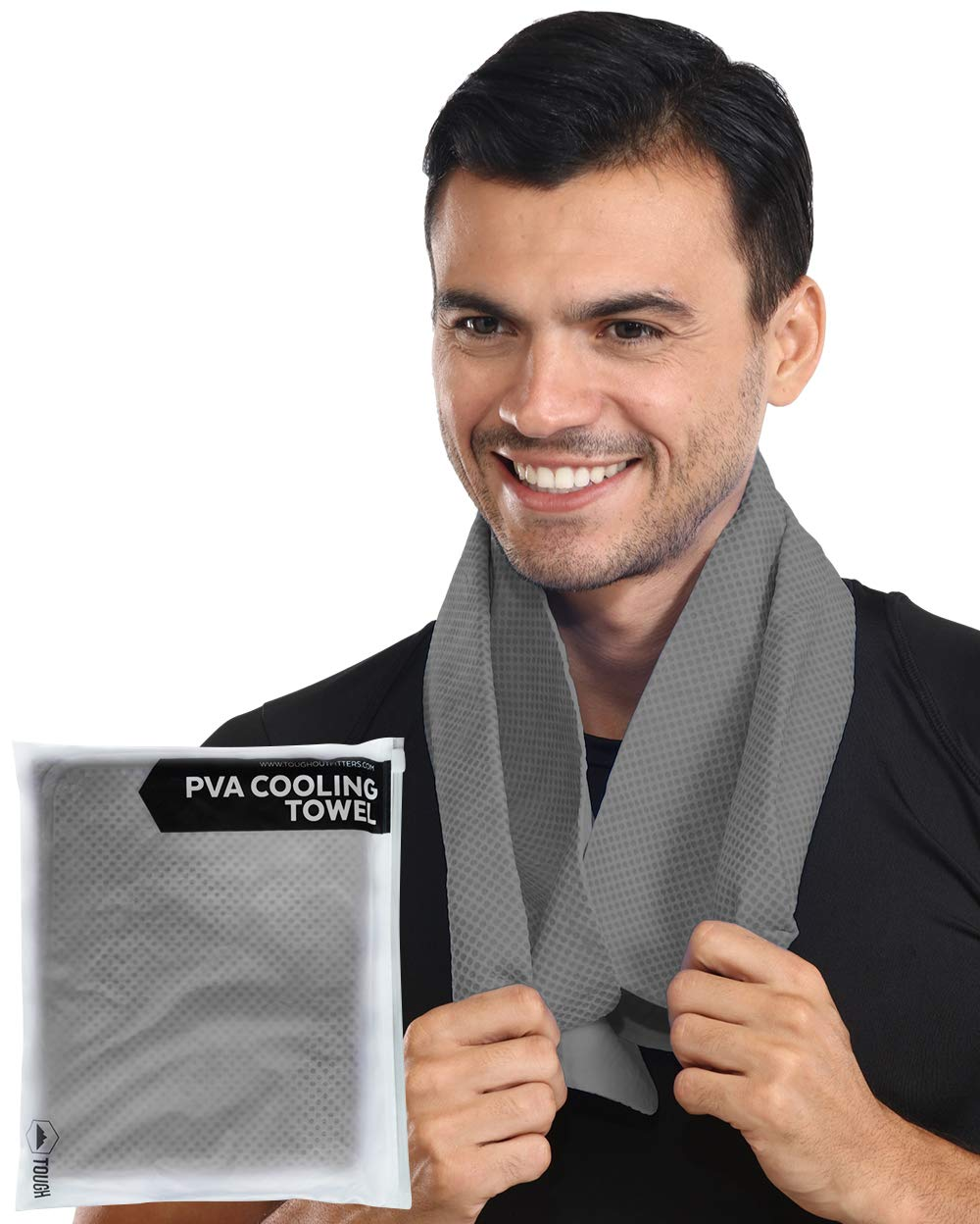 Cooling Towel - Cool Neck Wrap for Instant Relief - Cold Chilly Cloth for Summer Heat - Ideal for All Sports, Running, Hiking, Camping, Travels, Gym Workout, Fitness, Yoga & Golf - UPF 50