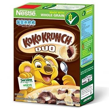 Amazon nestle koko krunch duo breakfast cereal chocolate and nestle koko krunch duo breakfast cereal chocolate and white chocolate flavoured 330g ccuart Images