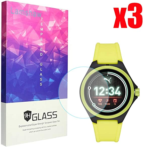 Amazon.com: for Puma Smartwatch Screen Protector, Blueshaw ...