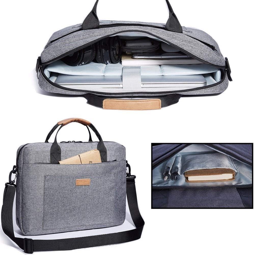 Color : Red, Size : 17.3-inch Hemengjuan Briefcase Laptop Bag 13.3 15.6 17.3 Inch Waterproof Notebook Bag for MacBook Air Pro,13 15 Computer Shoulder Handbag