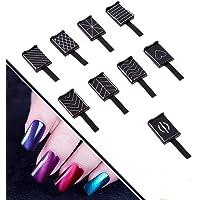 Herramientas de arte de uñas, Delaman 9 Unids / set 3D Cat Eye High Magnetic LED Polish Soak Off UV Gel Magnet Stick Manicure Nail Art Tools