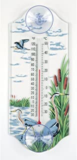 product image for Aspects 268 Classic Style Great Blue Heron Window Thermometer