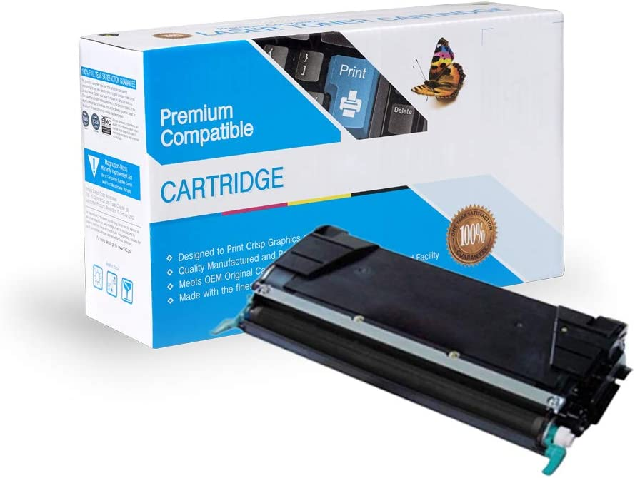 Works with: C524 On-Site Laser Compatible Toner Replacement for Lexmark C5242KH C524DN,/ C524DTN,/ C524N,/ C530DN,/ C532DN,/ C532N,/ C534DN,/ C534DTN,/ C534N Black