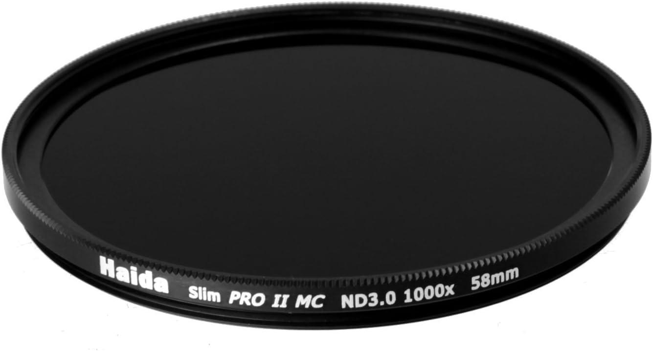 Haida 58mm ND1000 Filter Slim PROII Neutral Density Multi-Coated ND 3.0 58
