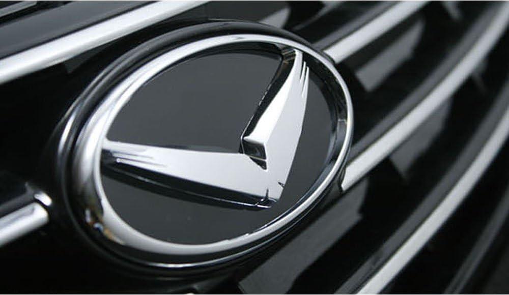 K Logo Hood Trunk Symbol accessories Emblems Badges 2EA Kia Optima K5 2011 2013
