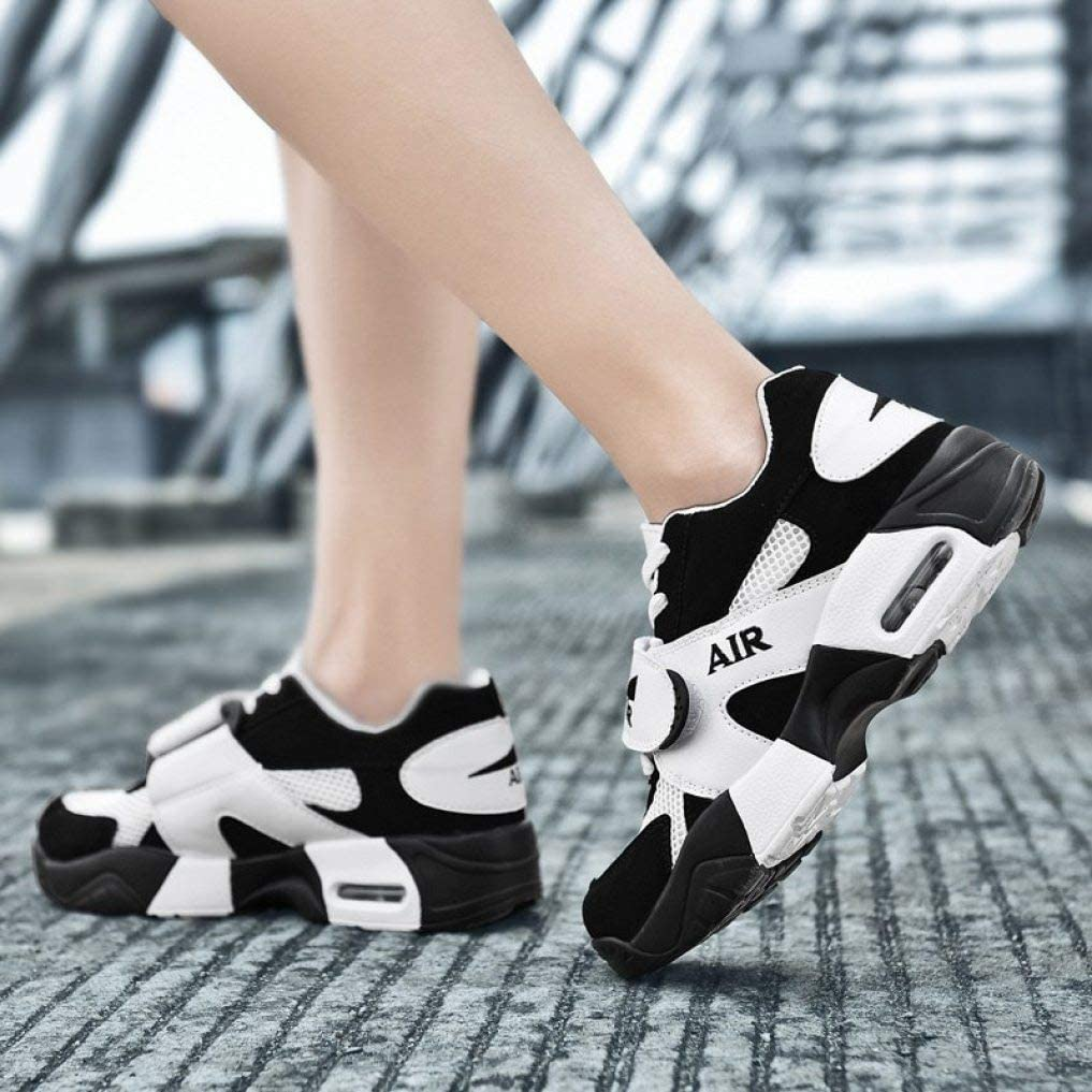 Mageed Anna Platform Sneakers for Women Sneakers Flats for Girls Female Casual Shoes Black and White Fashion Platform Loafers