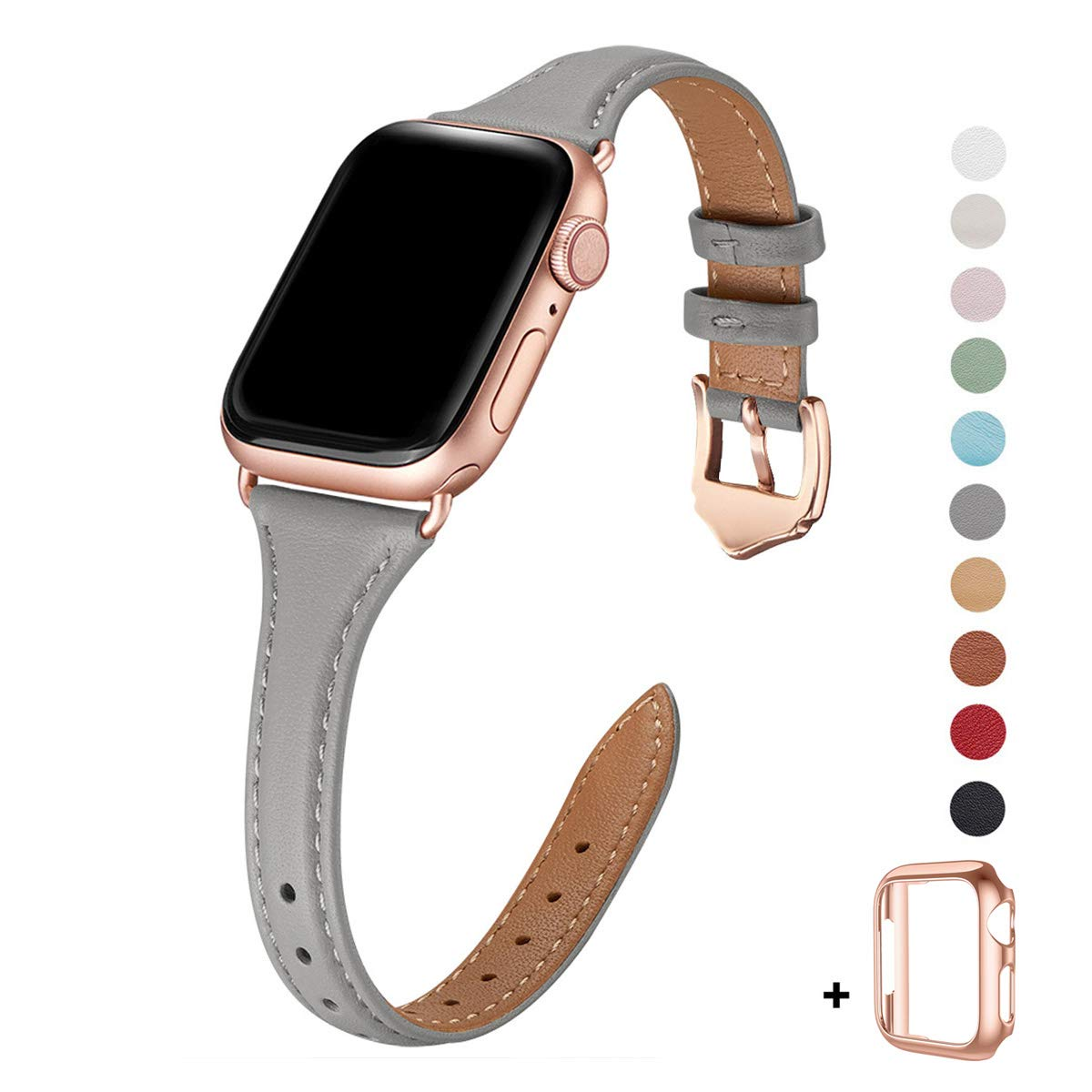 Malla Cuero para Apple Watch (38/40mm) WFEAGL [7T84C99X]