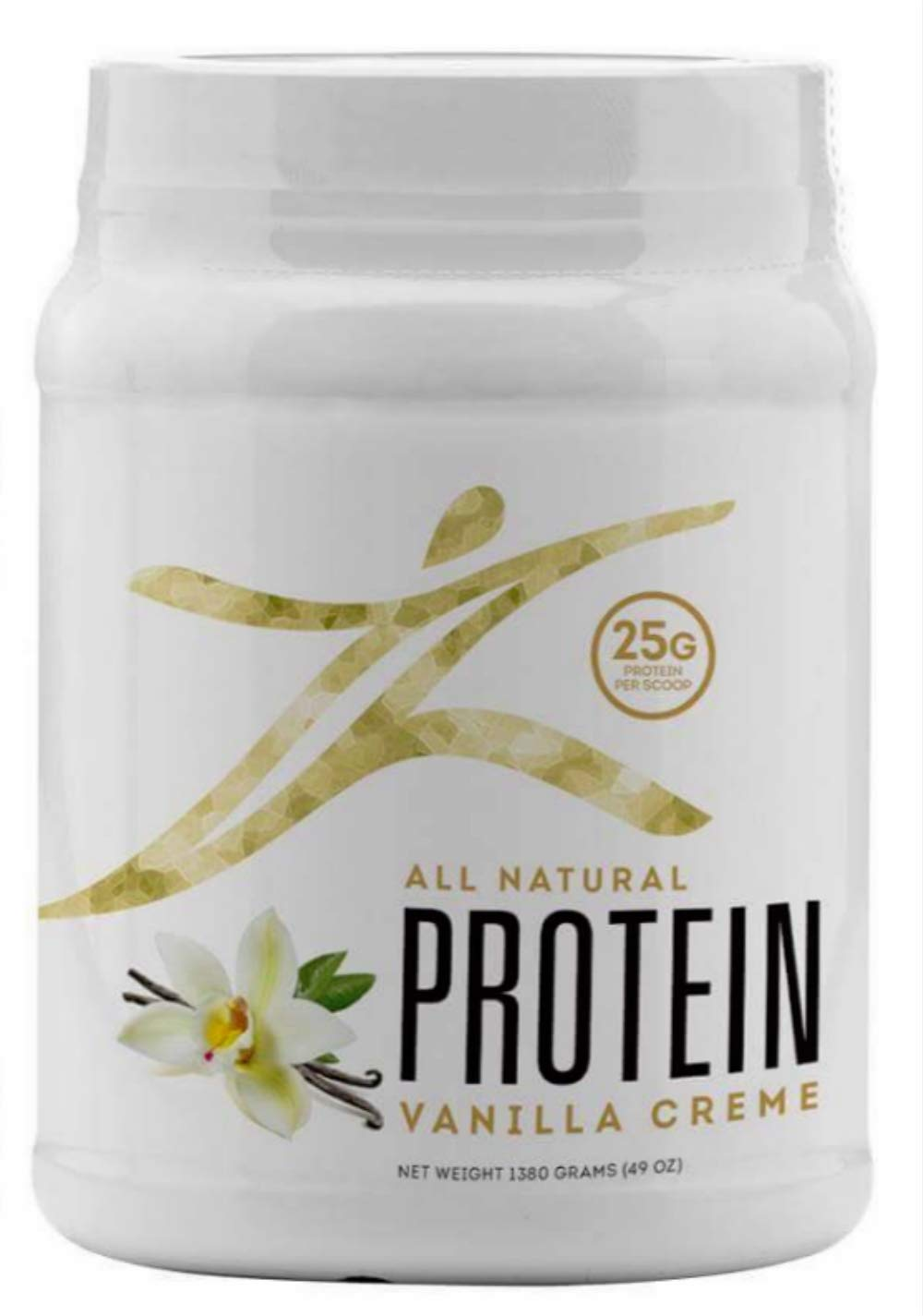 New Zurvita Zeal for Life Vanilla Creme Protein - with 25 Grams of Protein per Serving (11 More Than The Current Formula)