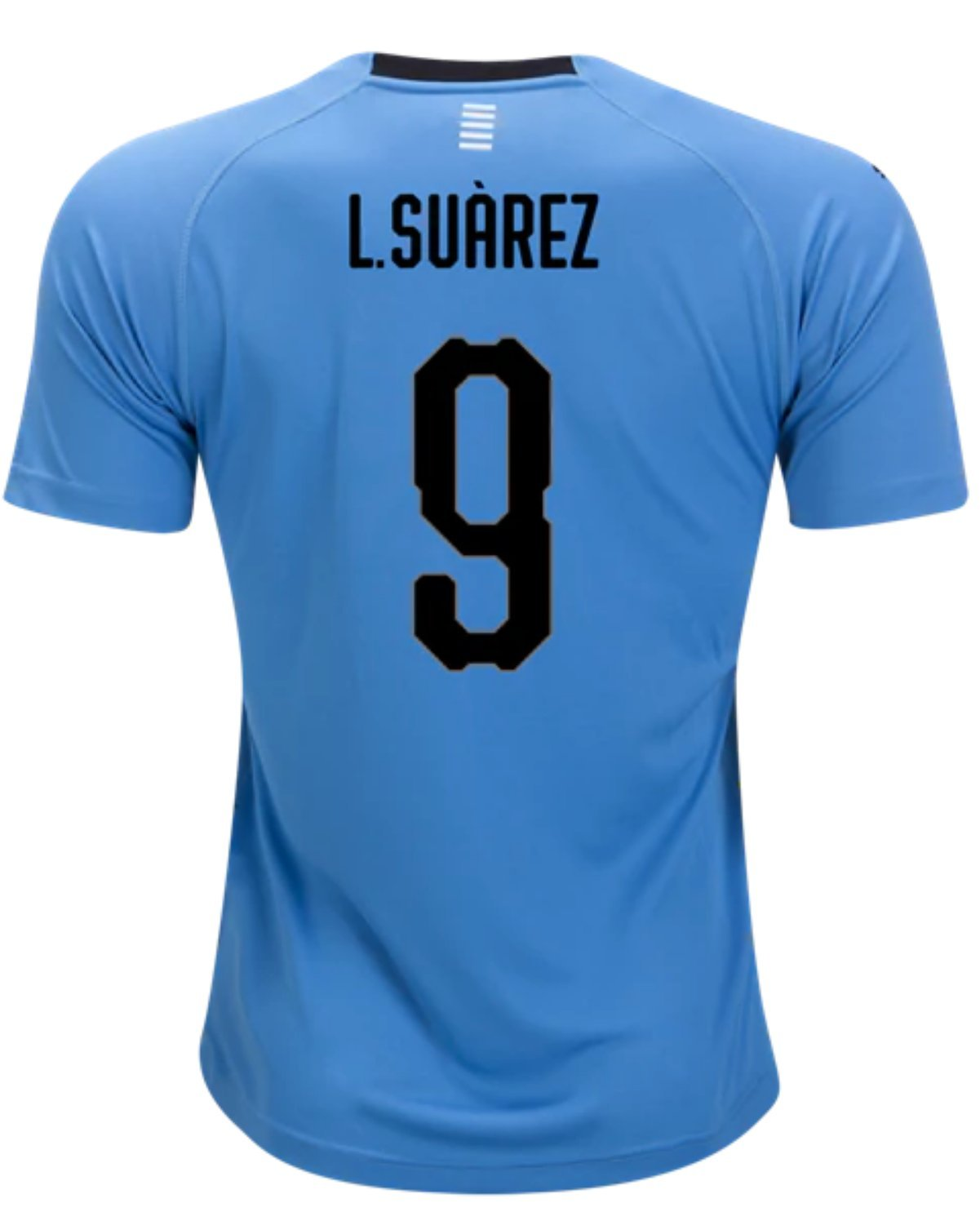 2f3ee0bdc Suarez #9 Uruguay Soccer Jersey Youth World Cup Home Short Sleeve with  Shorts Kit Kids
