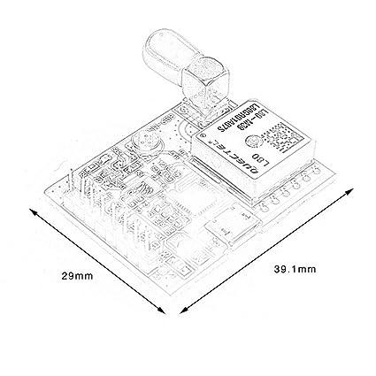 FDBF HW-658 gsm/GPRS Mould USB Port GPS Module For Raspberry Pi AB A+ B+ Zero 2 3: Amazon.es: Hogar