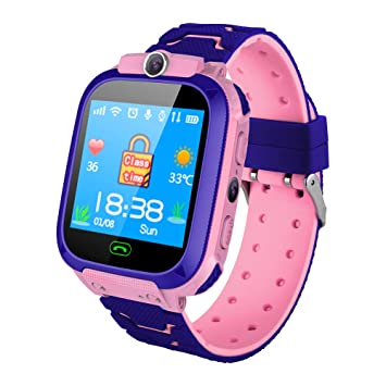 Amazon.com : JinJin Kids Smartwatch Phone, Kids GPS Watch ...