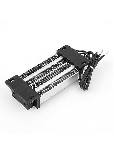 Calentador de aire de cer/ámica PTC Termostato de 300W 220V Calentador el/éctrico Elemento de calefacci/ón de aire Calentador de cer/ámica PTC aislado