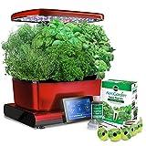 AeroGrow AeroGarden Harvest Touch with Gourmet Herbs Seed Pod Kit 901056-1200 , Red
