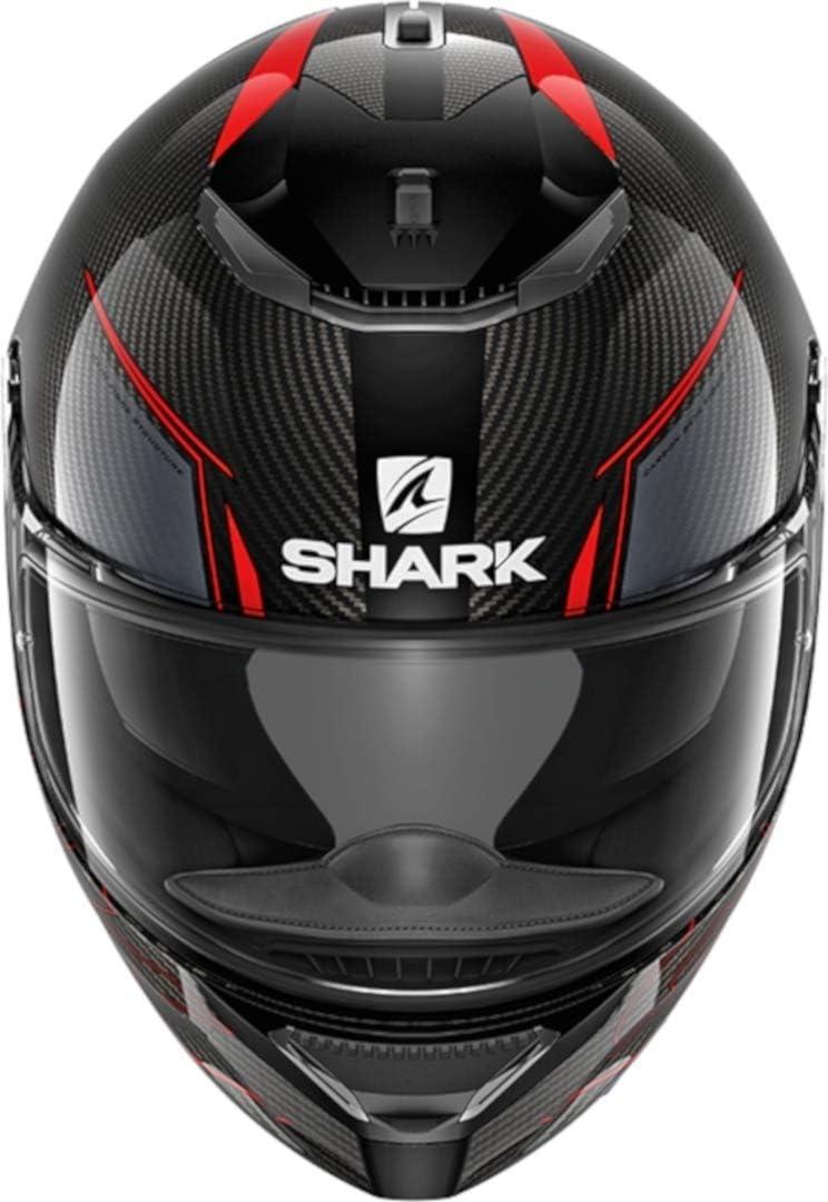 Shark Motorradhelm SPARTAN CARBON 1.2 SILICIUM DYA M Schwarz//Grau//Neongelb