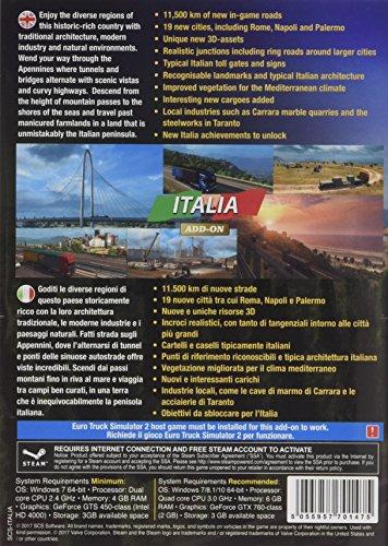 Euro Truck Simulator 2: Italia Add On (PC DVD) ( Steam