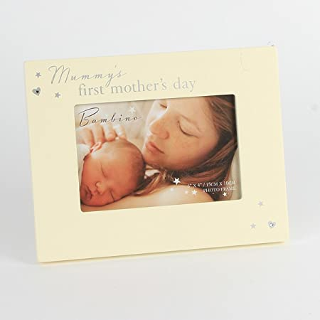 Mummys 1st Mothers Day First Mothers Day Photo Frame Gift: Amazon.co ...