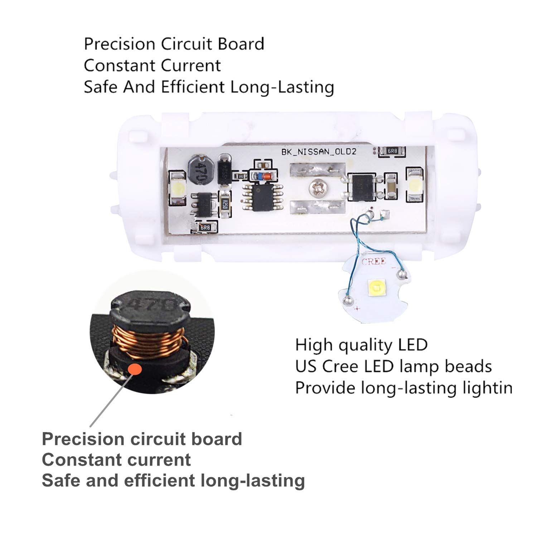 Sunkissed 2 Pcs Car Logo Lights Ghost Light Door Q60 Infiniti Wiring Diagram Projector For Compatible Fx G Q50 M Ex Qx50 Qx56 Qx70 Qx80 Emblem