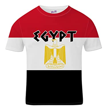 2b9ec55b9 Bang Tidy Clothing Egypt Football Shirts for Men 2018 Egyptian Team Flag T  Shirt Fans Gift: Amazon.co.uk: Clothing