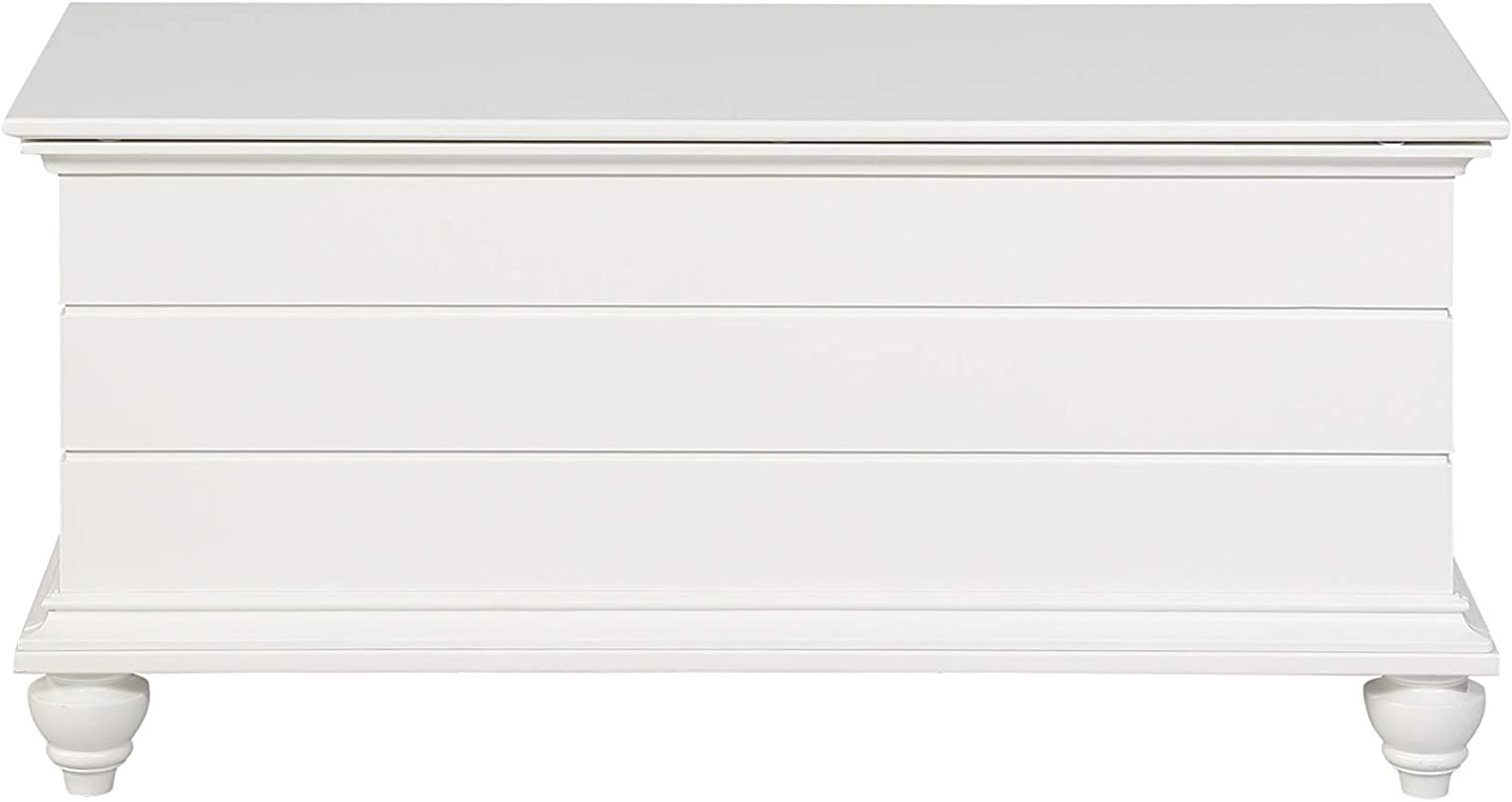 Powell Furniture Whitehurst Cedar Chest, White