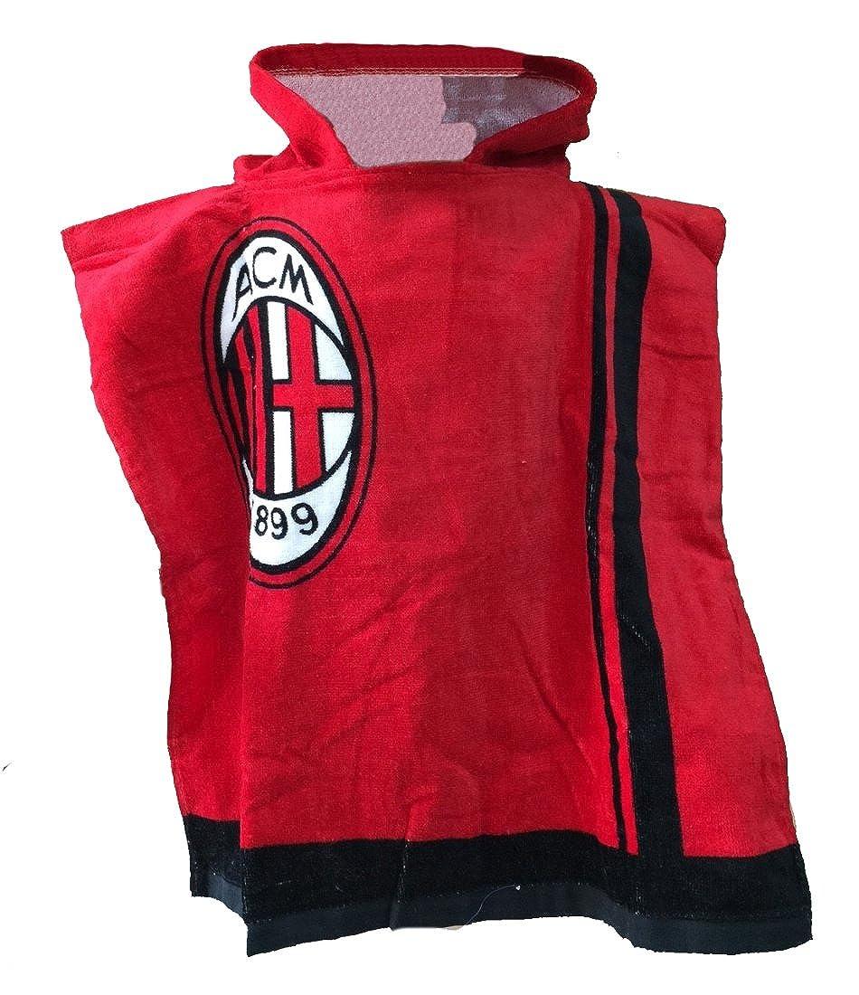 Arnetta Poncho Milan Bambino Ufficiale ACM Milan Accappatoio Bambino PS 10487