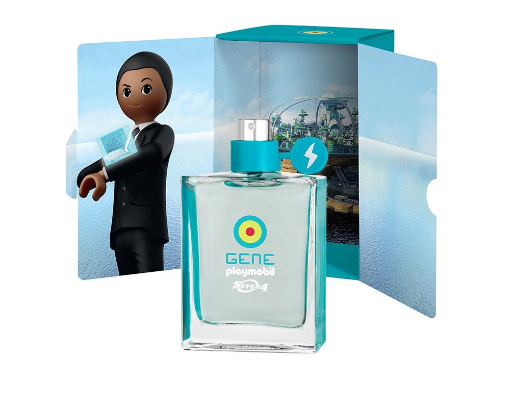 Playmobil - Eau de toilette gene super 4, 50 ml PML0001