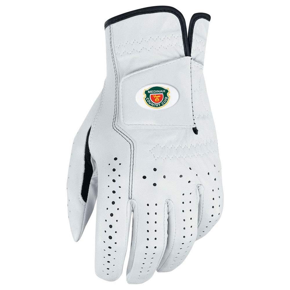 NIKE Custom Crested Classic FL Golf Gloves 2017 Cadet White/Black Fit to Left Hand Medium