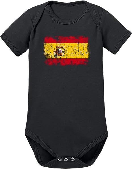 TShirt-People - Body para bebé, diseño de Bandera de España: Amazon.es: Ropa y accesorios