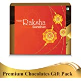 Snickers Medley Assorted Chocolates Rakhi Gift Pack 247.6G with 2 Rakhis, Roli Chawal and Amazon Voucher Worth Rs.200