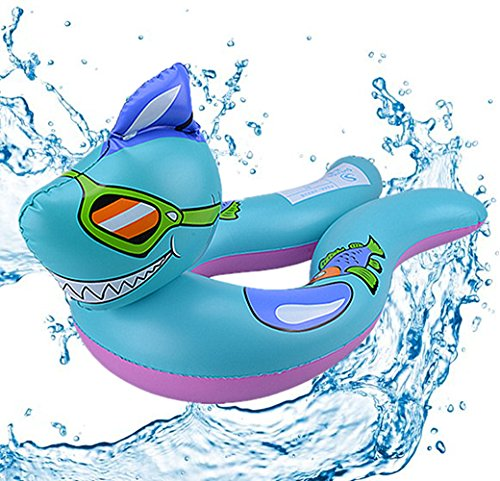 Cool Animal Swim Ring , Chickwin 1Pcs Kids Inflatable Swim Ring Swimming Child Life Buoy Child Mount Toy Baby Swimsuit Seat Armpit Circle Outdoor Beach Pool (Shark) Mine Arm Warmers
