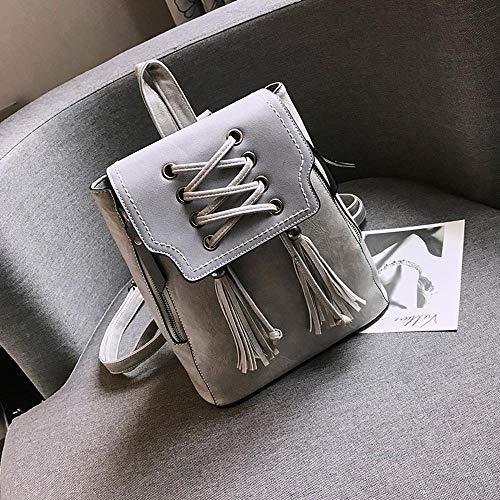 Bolsa De Mujeres 22x25x16x29cm Puro Viaje Chicas Cuero Pequeña B Bolsas Mujer Color Ambiguity Una Mochila Con S15q8fxwRn