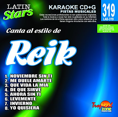 n Stars Karaoke by Reik (Star Disc Karaoke)