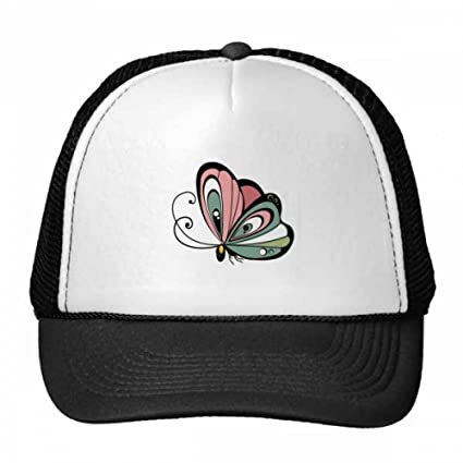 DIYthinker Animales en Forma de corazón de la Mariposa Gorros Gorra de béisbol de Nylon de