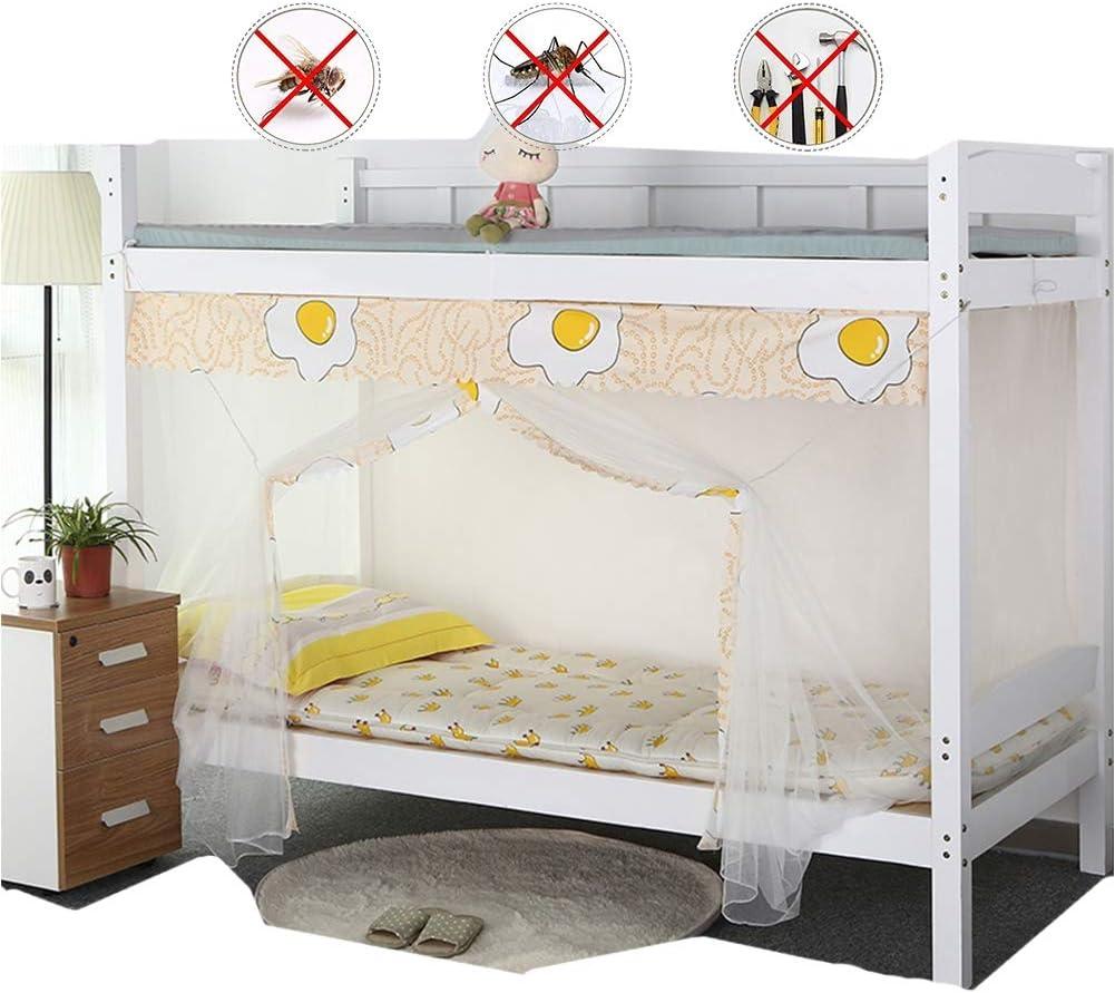 QDR Mosquitera Cama Blanca Individual Y Doble Bette para Pergola Dosel NiñOs Fly ProteccióN contra Insectos Interior/Exterior Decorativa Altura,White,E: Amazon.es: Hogar