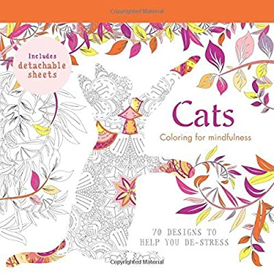 Cats: 70 designs to help you de-stress (Coloring for Mindfulness) by Hamlyn (2015-08-04)