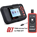 Launch Creader VII+ (CRP123) Code Reader Engine/Transmission/ABS/SRS OBD2 Scan Tool + TPMS Activation Tool EL-50448 As FREE GIFT