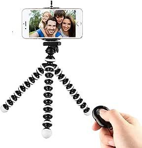 DELAMZ Adjustable Tripod Stand Mount Holder Clip Set For Cell Phone Camera Adjustable Camera DV Projector Mobile Phone Tripod Stand