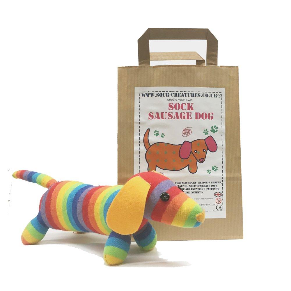 Sock Sausage Dog Craft Kit Sock Creatures