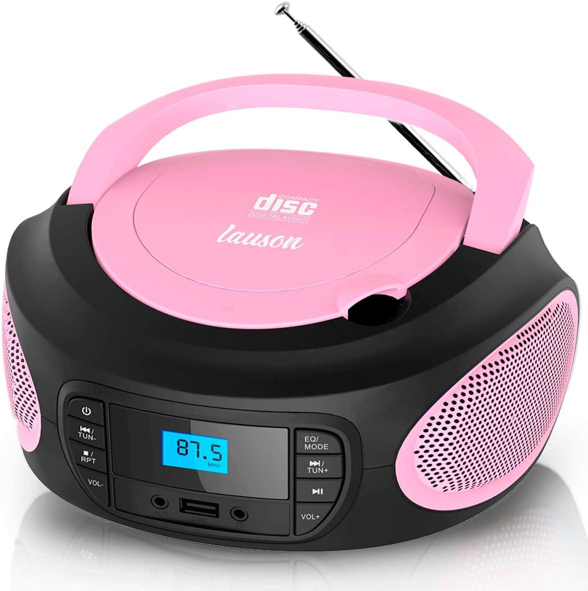 Lauson Llb995 Tragbarer Cd Player Cd Radio Boombox Elektronik