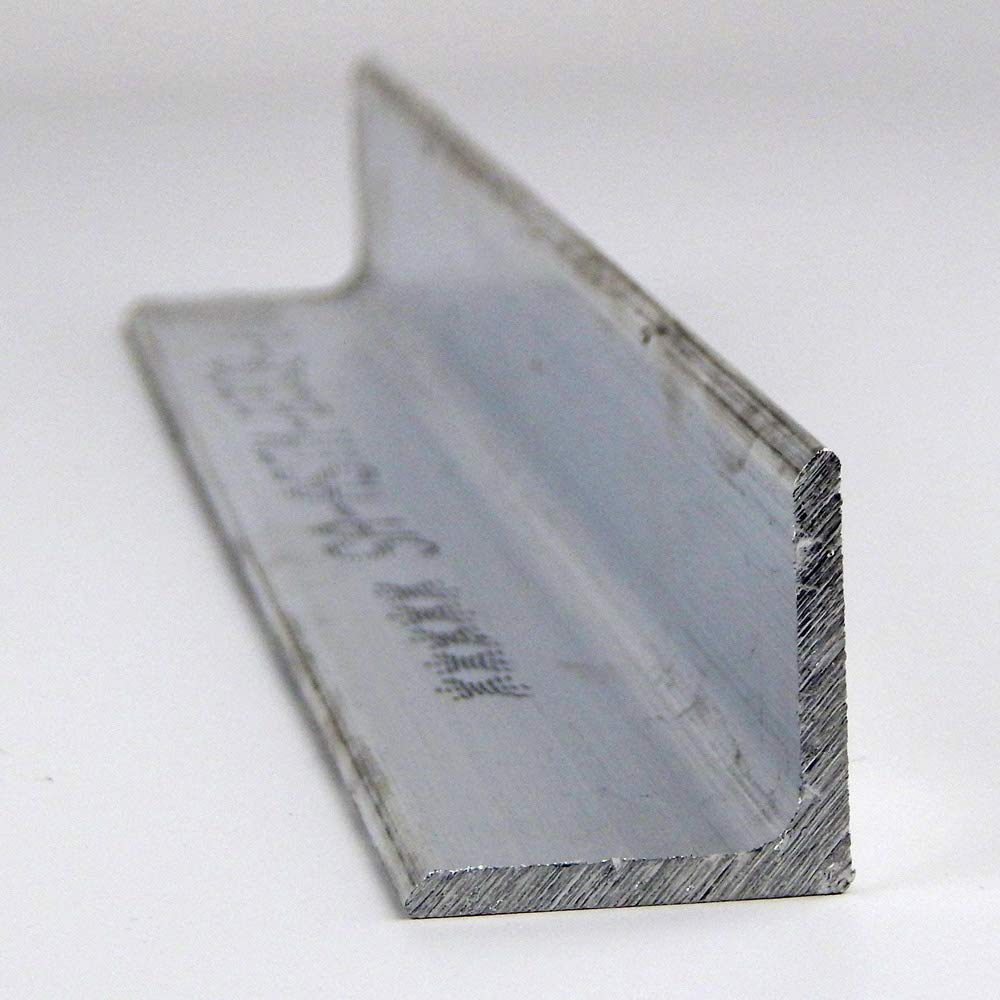 2.5 x 2.5 x 0.375 Aluminum Angle 6061-T6 Extruded Structural 96.0
