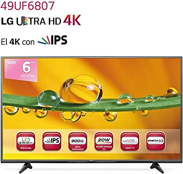 LG 49UF6807 - Televisor LED de 49
