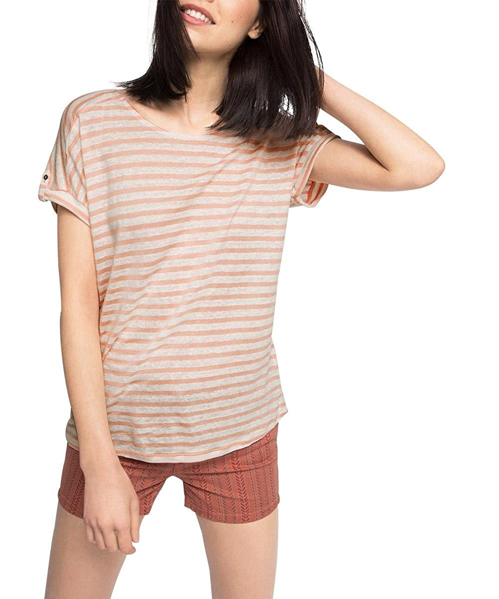 Esprit 056ee1k013 - Gestreift - Camiseta Mujer