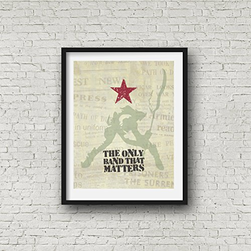 THE CLASH Inspired Poster Print | 11x14 | Joe Strummer | Punk Rock ()