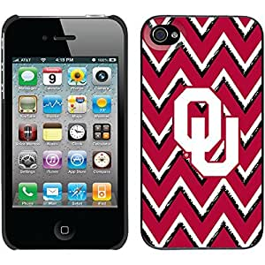 iphone covers Oklahoma Sketchy Chevron design on Black iPhone 5c / 4 Thinshield Snap-On Case