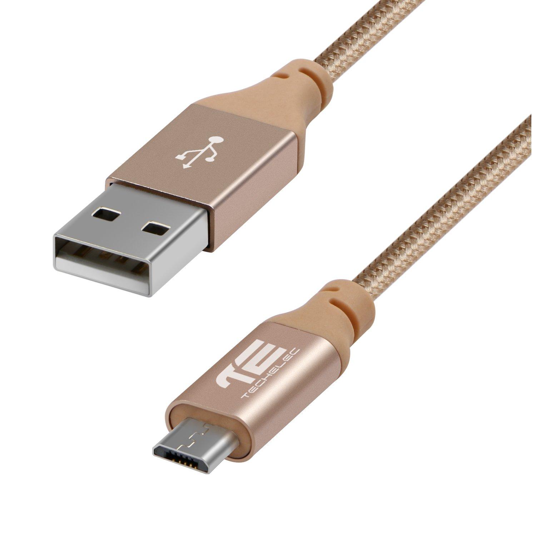 1M Micro USB Kabel, TechElec USB Ladekabel Datenkabel: Amazon.de ...