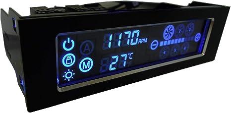 Gelid Solutions SpeedTouch 6 6channels Negro Controlador de ...