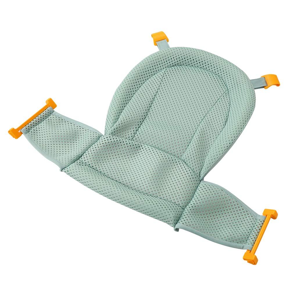 LINNUO Asiento Baño del Bebé Accesorios de Baño Recién Nacido Hamaca de Baño Red de Soporte para Bañera Baño de Seguridad Bebé