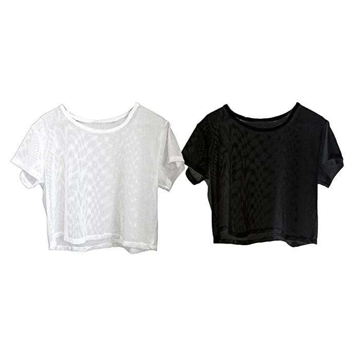 2 Unidades Camisetas de Yoga Mujeres Gimnasio Deportes Negro ...