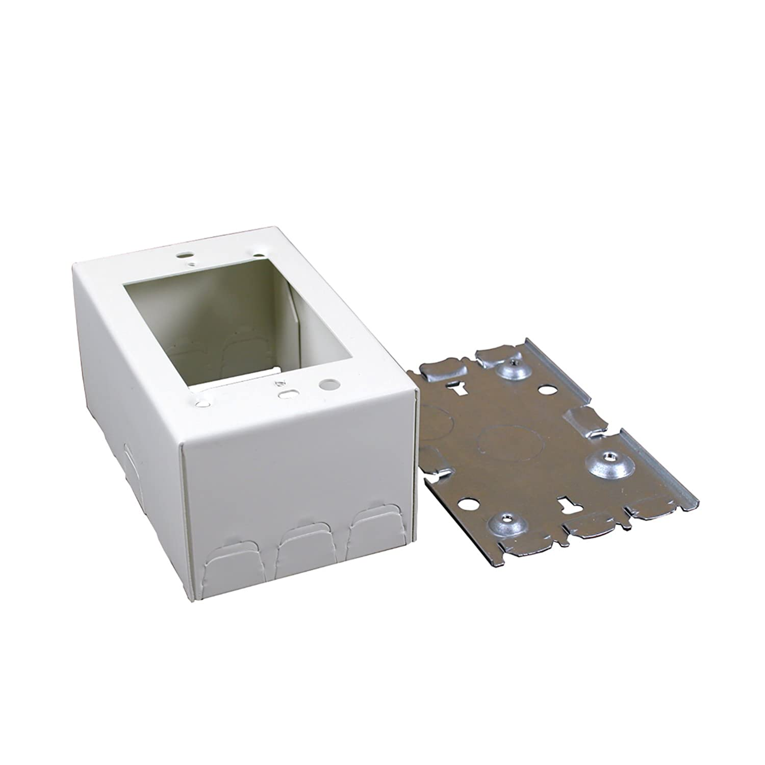 Legrand - Wiremold V5747 Shallow Switch and Receptacle Box - Power ...
