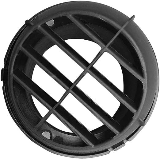 Negro Oyamihin 60mm Calentador de estacionamiento Calefactor de estacionamiento Ventilador de Aire Calefactor del autom/óvil Salida de Aire Direccional Giratorio para Webasto Truck Auto Parts