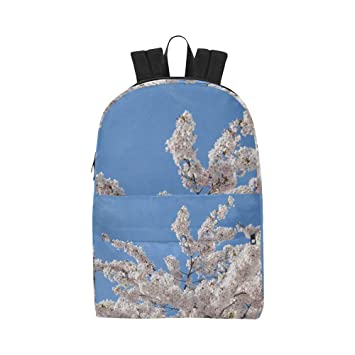 Blue Sky Spring Blossom Flower Classic Cute Waterproof ...